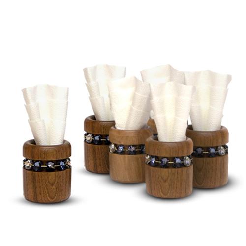 Atribút set-6-napkin-holders-o-782-cm | natalis-luxus.com}}