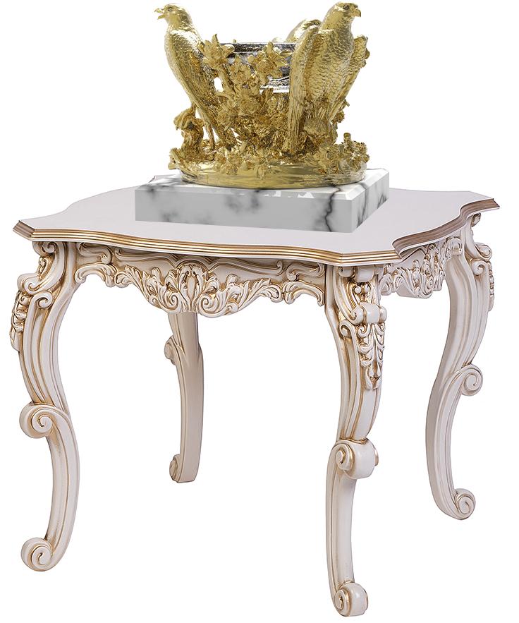 AMBROSIA Golden crystal bowl on the table | Natalis Luxus
