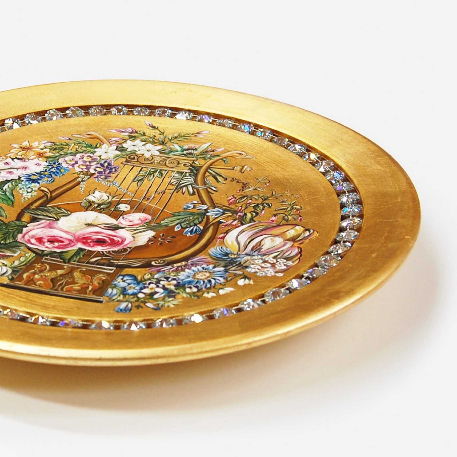 Kalomira - Hand painted and gilded with 24-karat gold   Natalis Luxus