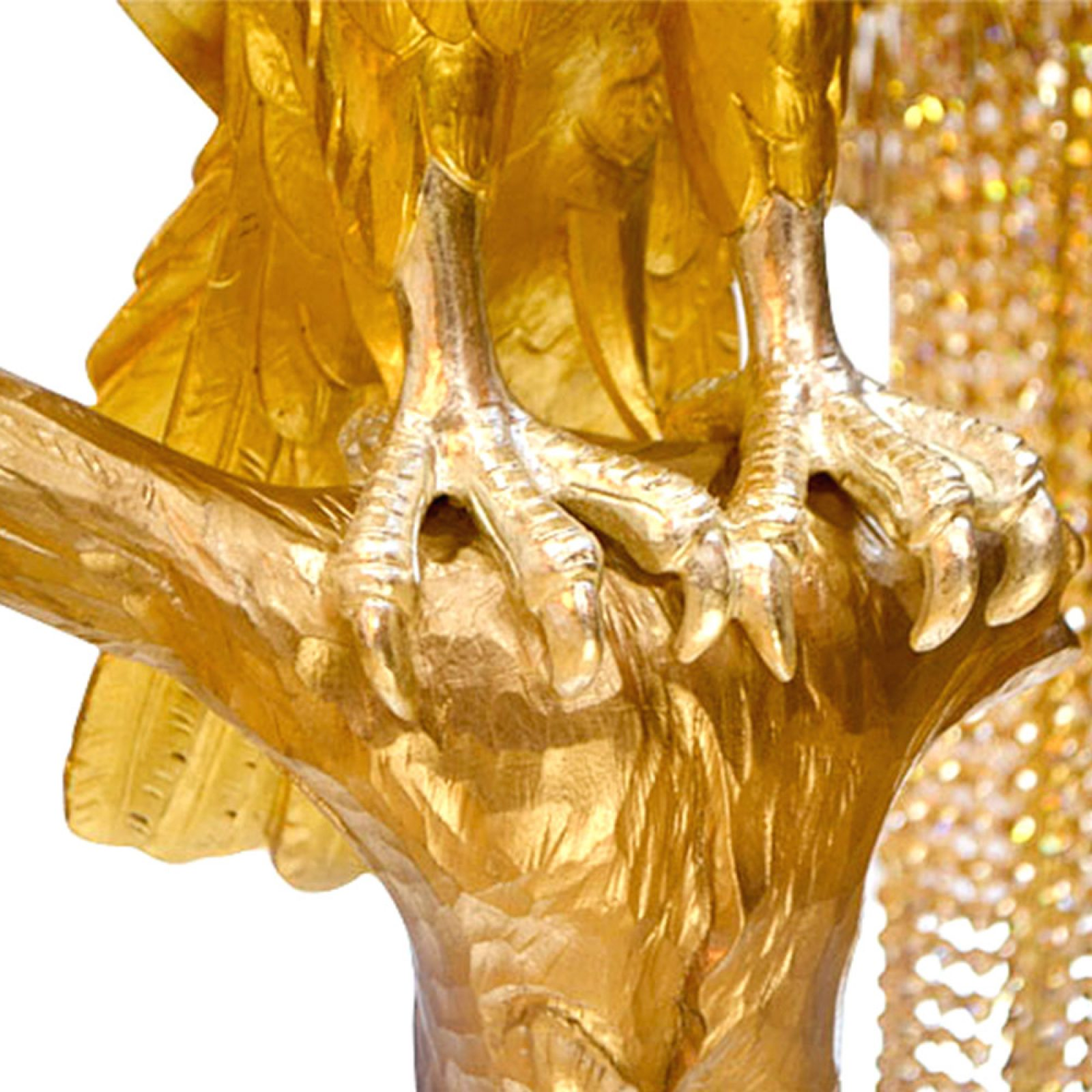 Kaddour - the sculpture by hand with various shades of 24-karat gold leafs | Natalis Luxus